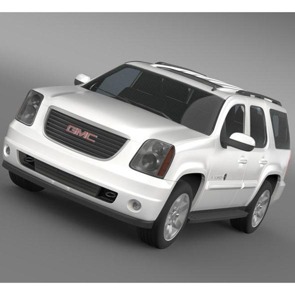 3DOcean GMC Yukon Heritage Edition 2012 5599863