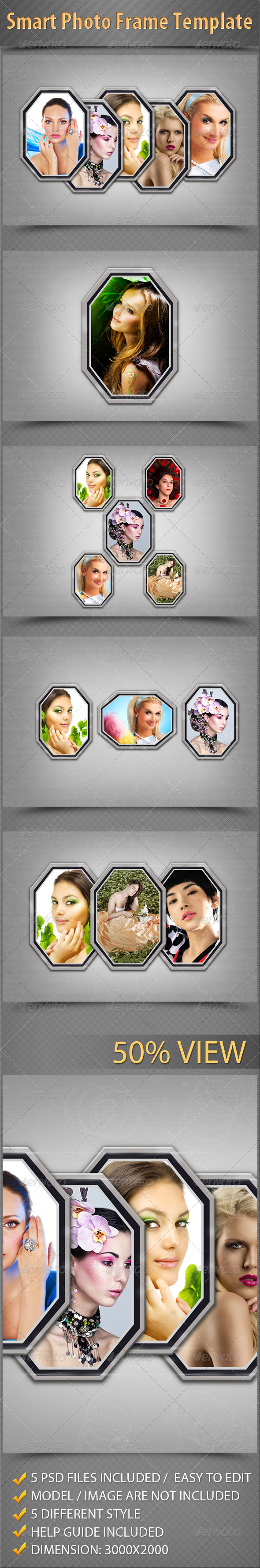 GraphicRiver Smart Photo Frame Template 5576724
