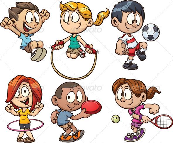 cartoon play