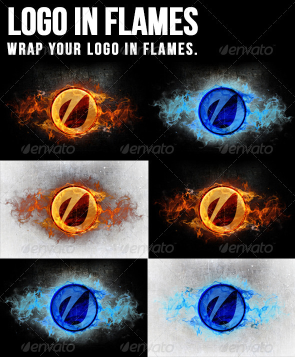 GraphicRiver Logo In Flames 5591603