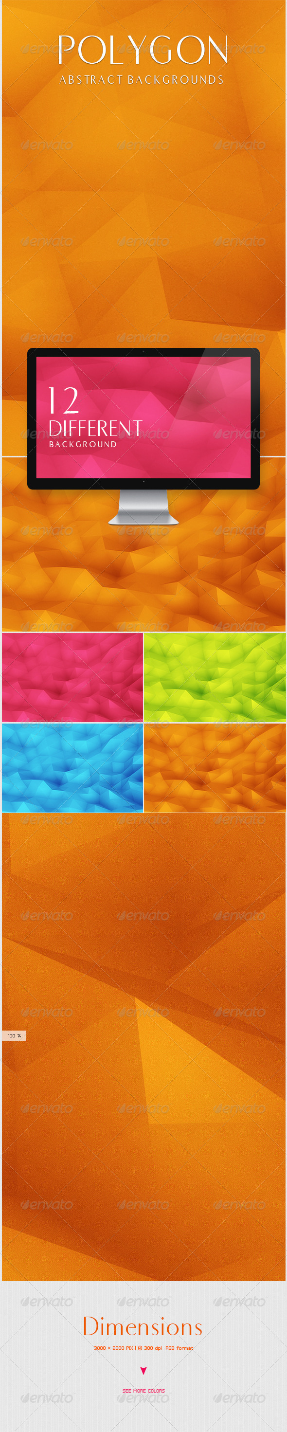 GraphicRiver Polygon Backgrounds 5600243