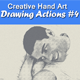 Creative Hand Art Drawing 4 - GraphicRiver Item for Sale