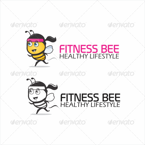 GraphicRiver Fitness Bee Logo 5564926