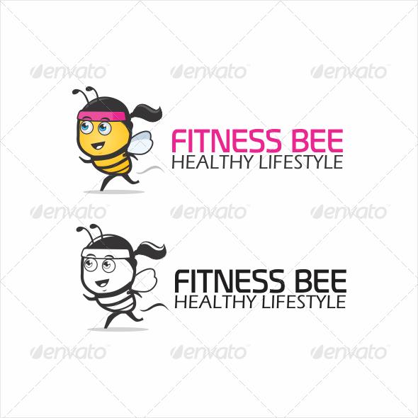 Fitness Bee Logo