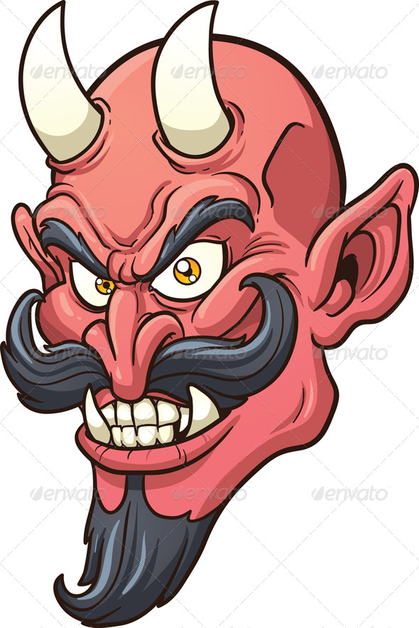 GraphicRiver Devil Head 5600369