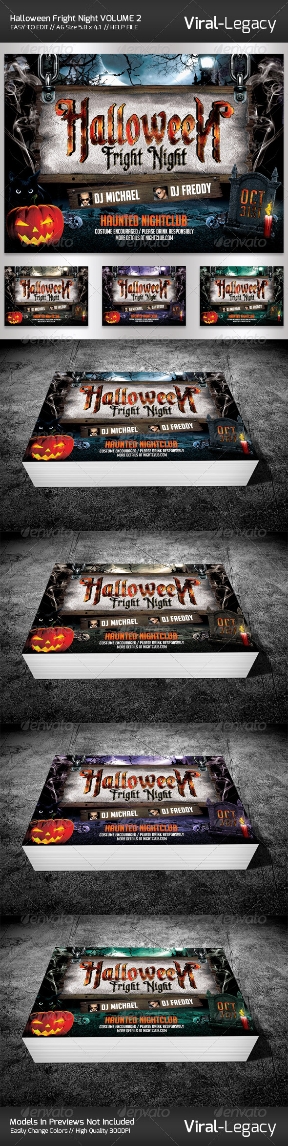 GraphicRiver Halloween Fright Night V2.0 5600483