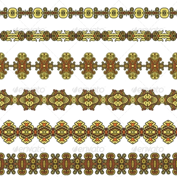 GraphicRiver Ornamental Seamless Pattern 5600722