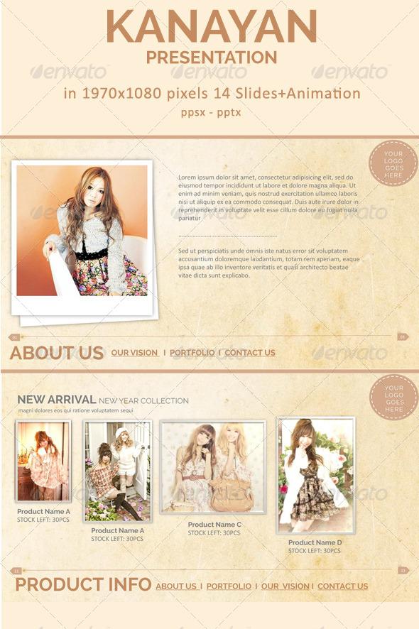 GraphicRiver Kanayan presentation 5592987