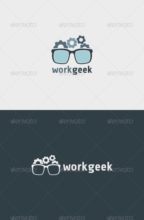 GraphicRiver Work Geek Logo 5600767