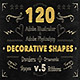 120 Handwritten Decorative Shapes 05 - GraphicRiver Item for Sale