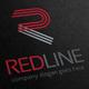 Red Line Letter R Logo - GraphicRiver Item for Sale