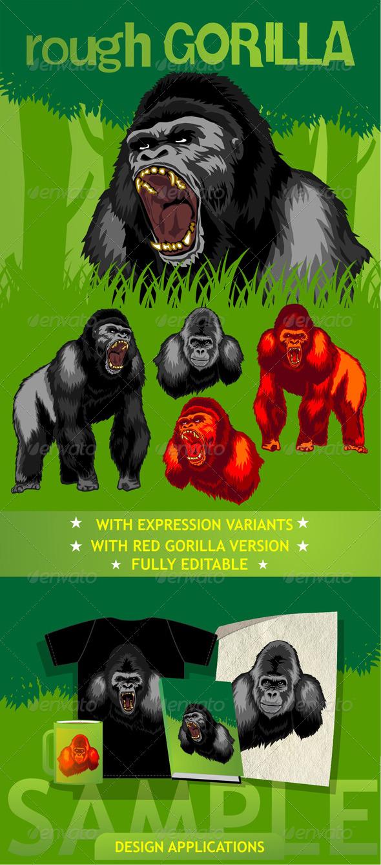 GraphicRiver Rough Gorilla 5601470