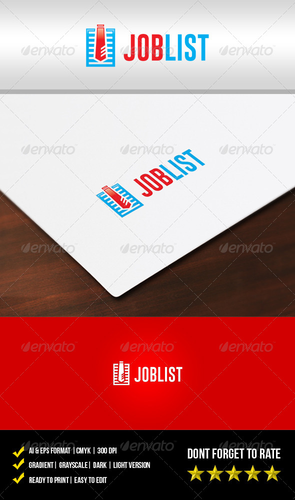 GraphicRiver Job List Logo 5602084