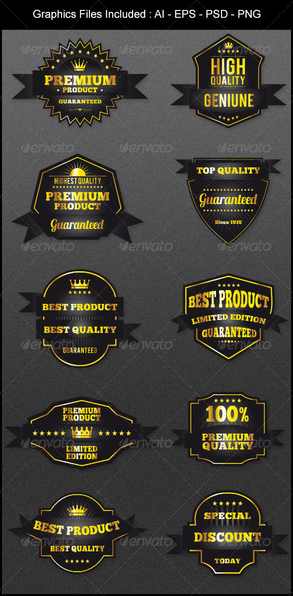 GraphicRiver Badges Design Version 2 5602396