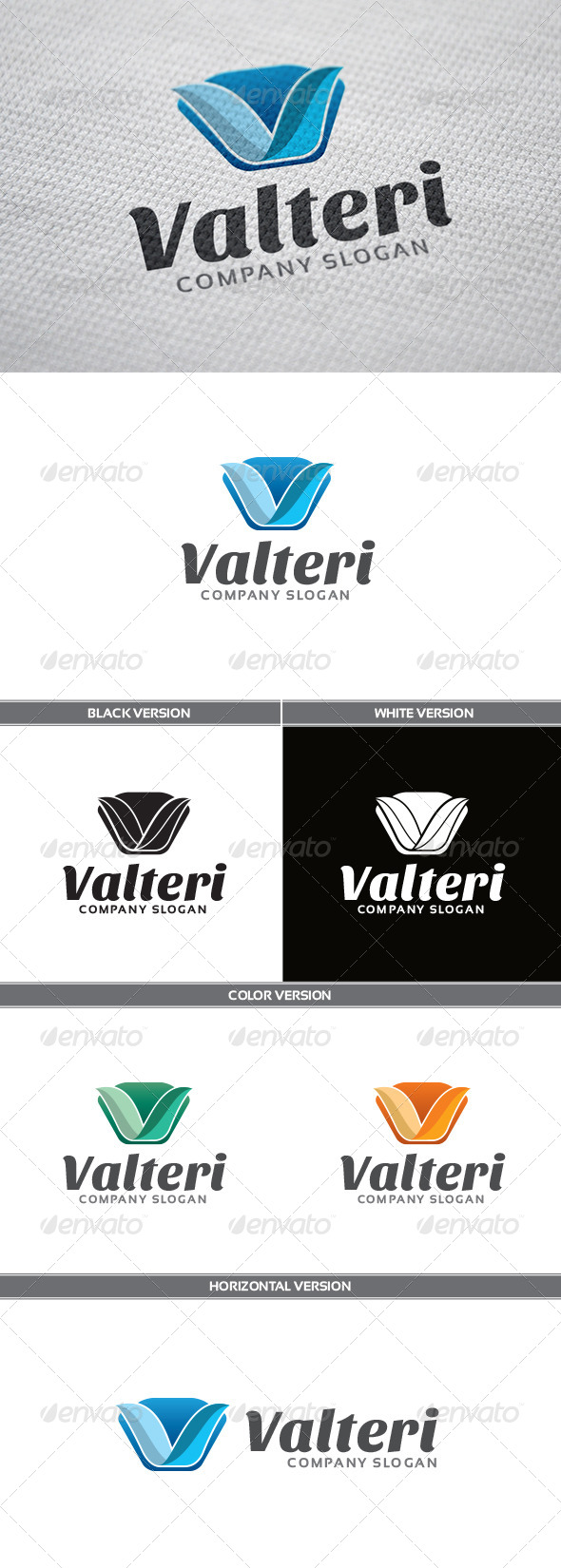 GraphicRiver Valteri Logo 5602759