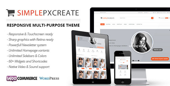 Simplepxcreate - Multi-Purpose eCommerce Theme