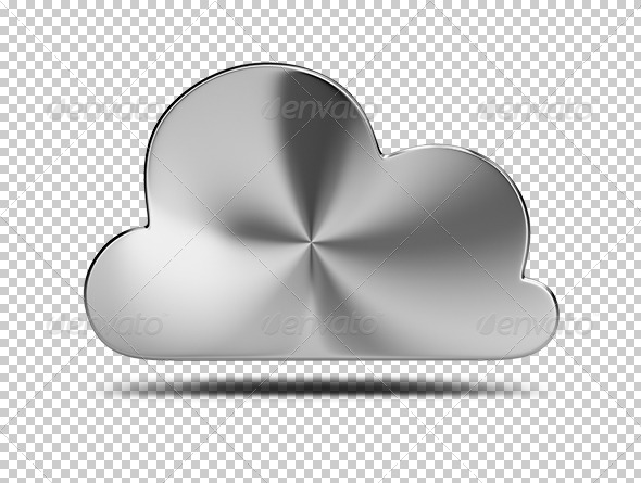 GraphicRiver Steel cloud 5603452