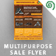 Multipurpose Sale / Promotion Flyer Template - GraphicRiver Item for Sale