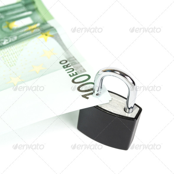 Euro Secured - Stock Photo - Images