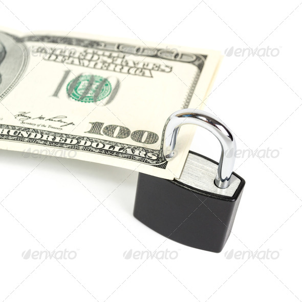 American Dollar Secured - Stock Photo - Images