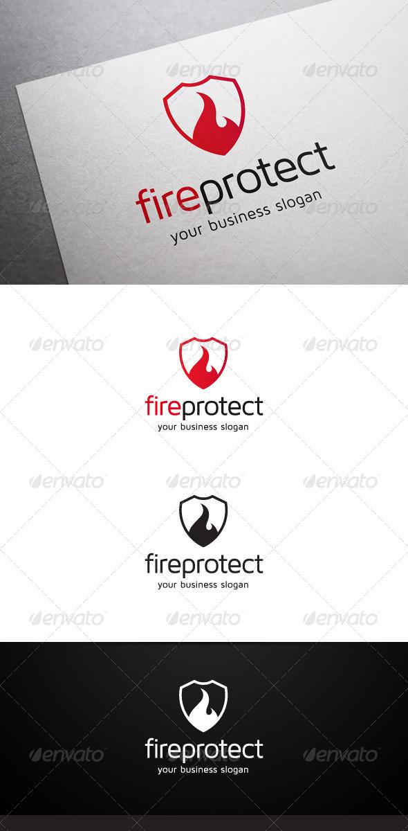 GraphicRiver Fire Protect Logo 5604045