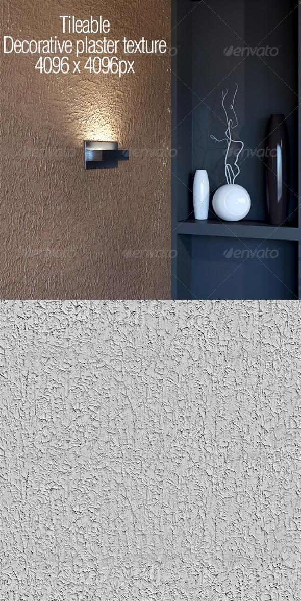Tileable decorative plaster texture - 3DOcean Item for Sale