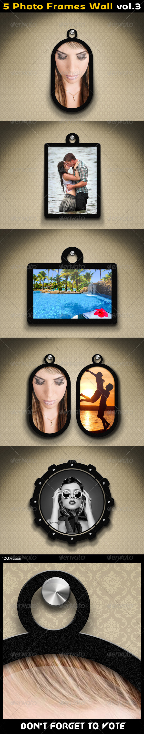 GraphicRiver Photo Frames Wall 03 5604295