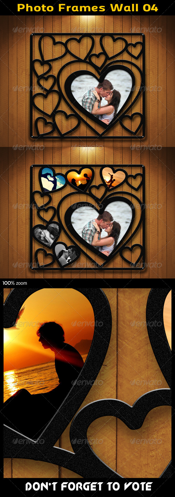 GraphicRiver Photo Frames Wall 04 5604421