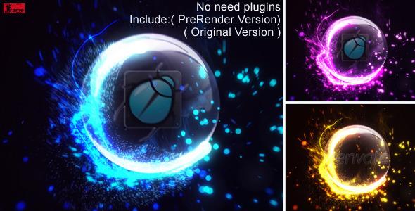 VideoHive Impact Particles Reveal超炫粒子logo演绎AE模板