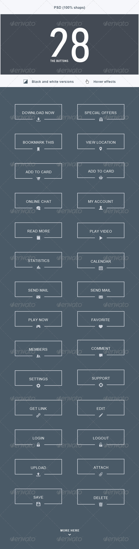GraphicRiver The Buttons 28 5517482