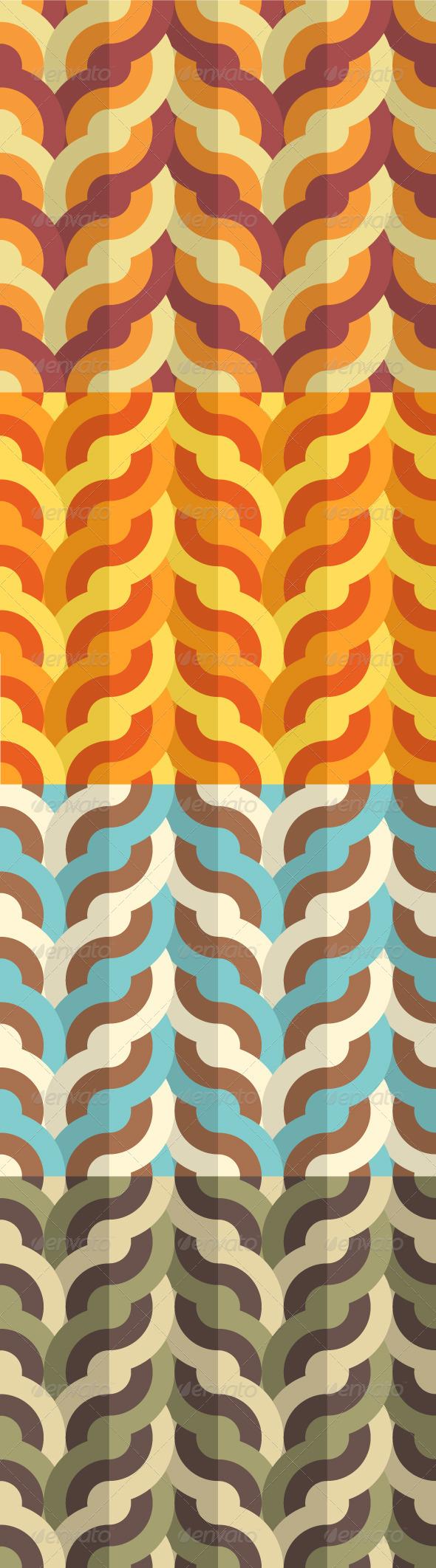 GraphicRiver Flat Geometric Weaving Pattern 5605948