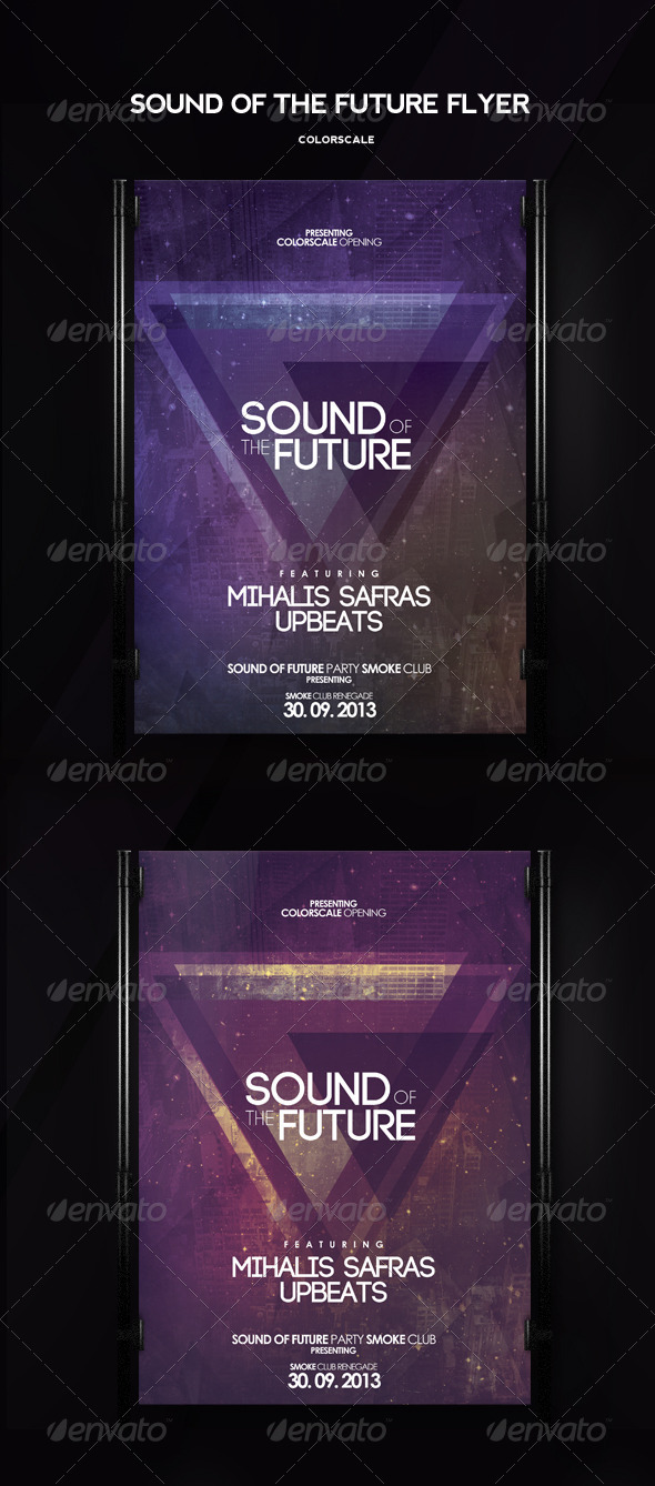 GraphicRiver Sound Of The Future Flyer 5606552