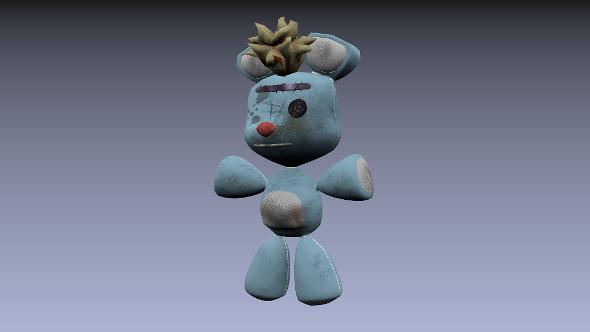 3DOcean Teddy Bean Old 5607117