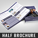 IT Technology Solution Half Brochure - GraphicRiver Item for Sale