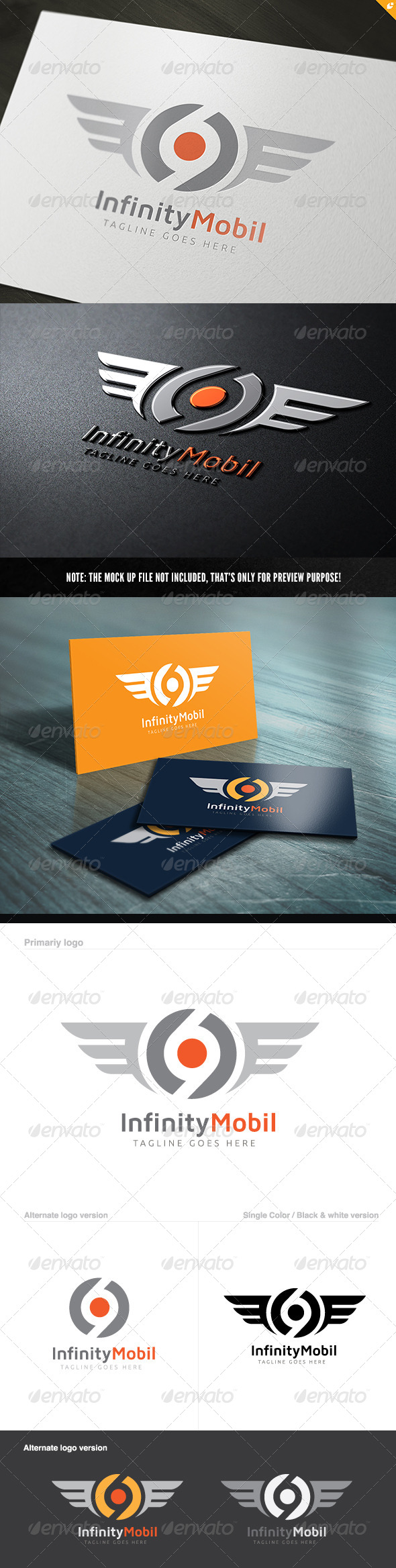 GraphicRiver Infinity Mobil Logo 5608964