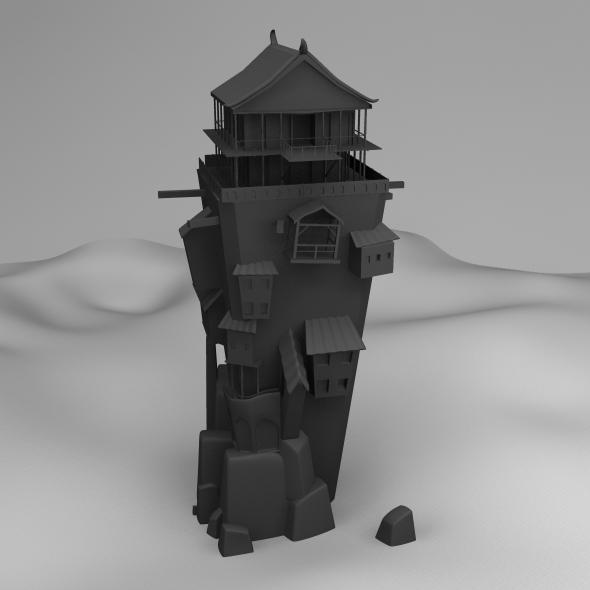 3DOcean Old Building 5609159