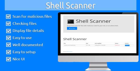 CodeCanyon Shell Scanner 5609275