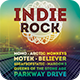 Indie Rock Flyer - GraphicRiver Item for Sale