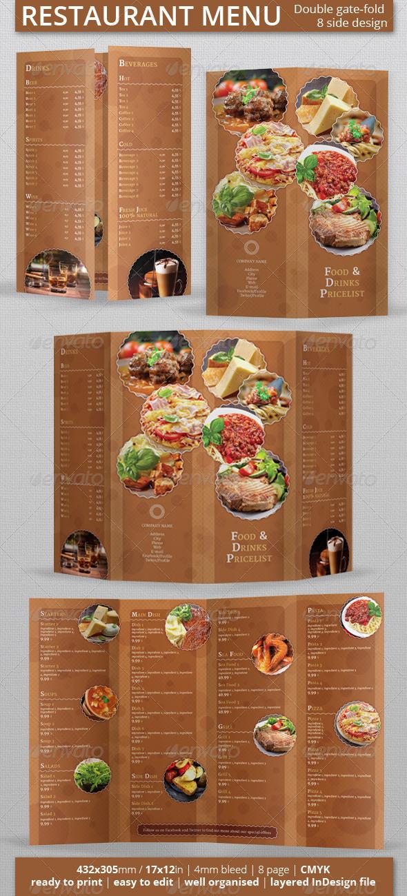 GraphicRiver Restaurant Menu 5610020