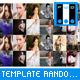 Advanced Random Slideshow Template - ActiveDen Item for Sale