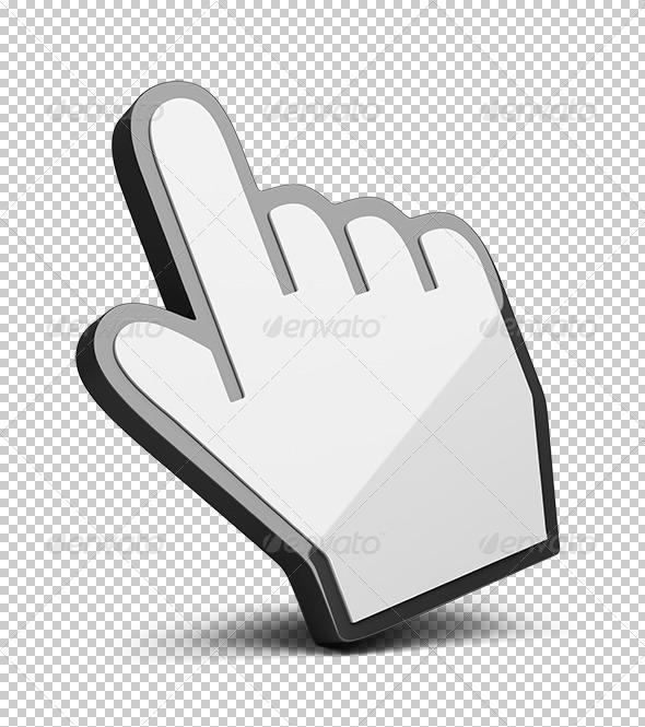 GraphicRiver Hand cursor 5610215