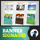 Multipurpose Banner Signage 9 - GraphicRiver Item for Sale