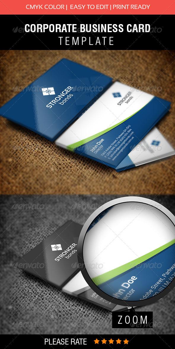 GraphicRiver Stronger Bonds Business Card 5611011