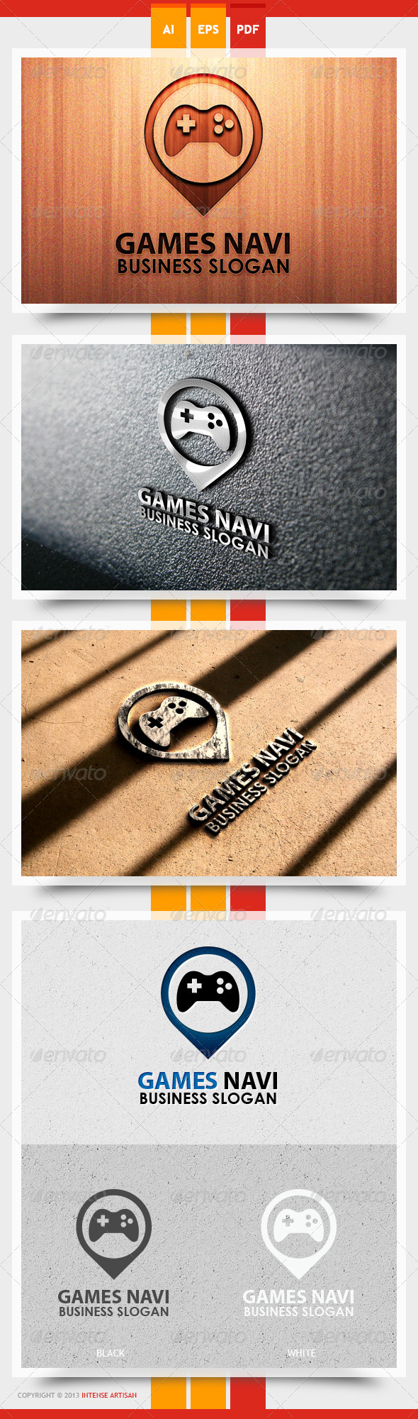 Game Navi Logo Template - Objects Logo Templates
