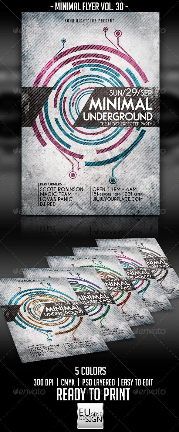 GraphicRiver Minimal Flyer Vol 30 5611704