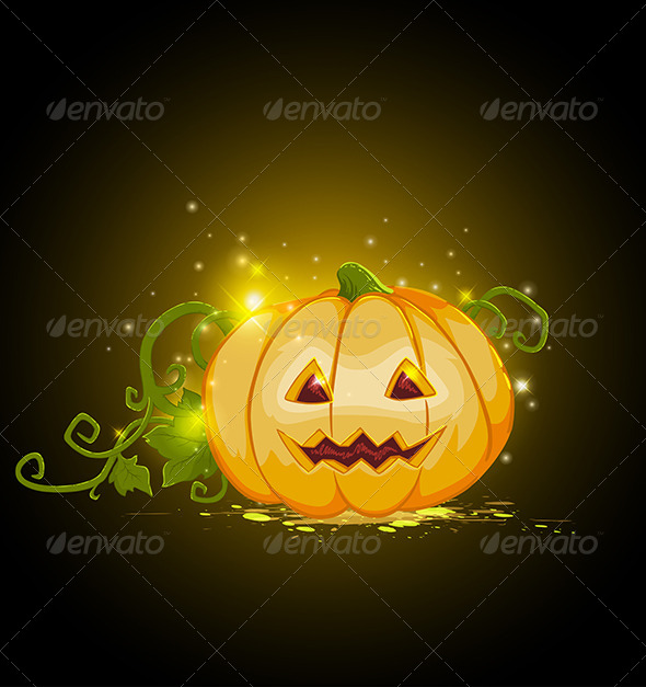GraphicRiver Halloween Pumpkin 5612314