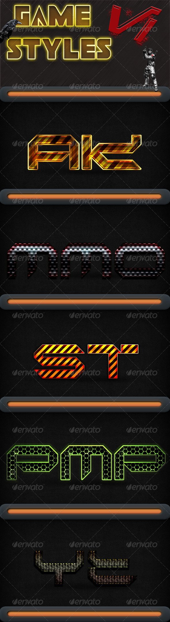 GraphicRiver Game Styles V1 5612441
