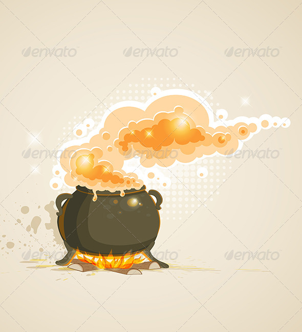 GraphicRiver Pot and Fire 5612448
