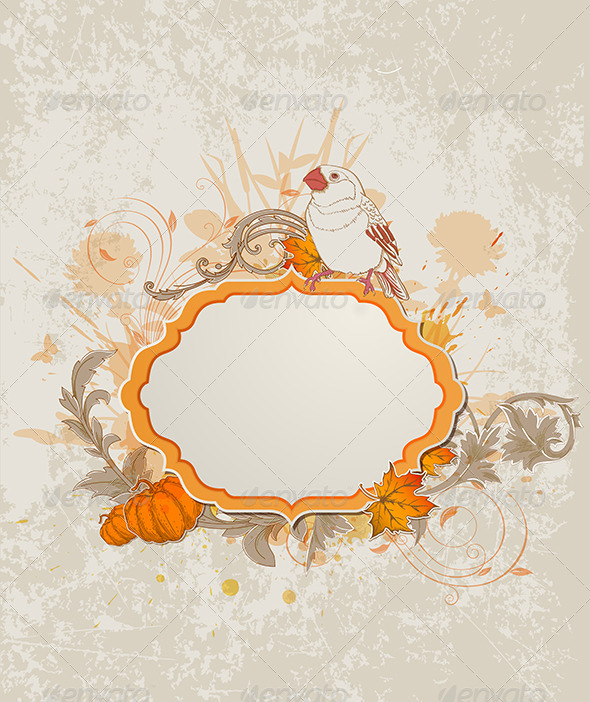 GraphicRiver Retro Autumn Label 5612563