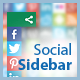 Social Sidebar - CSS Social Bar with Icons